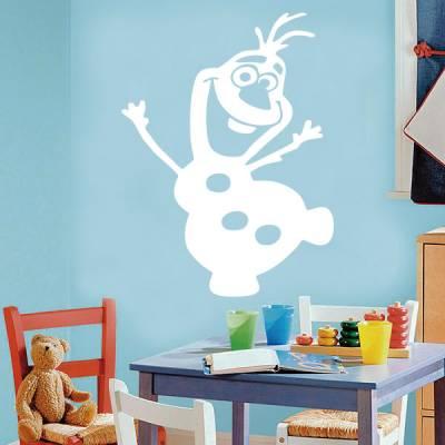 Adesivo de Parede Infantil Frozen Olaf
