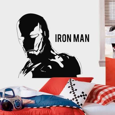 Adesivo De Parede Heróis Homem De Ferro 7