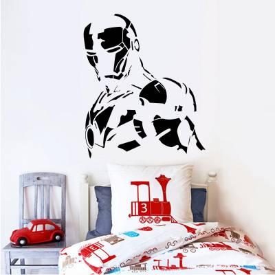 Adesivo De Parede Heróis Homem De Ferro 8