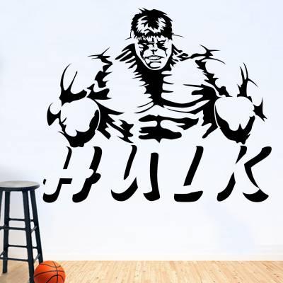 Adesivo De Parede Super Heróis Hulk 2