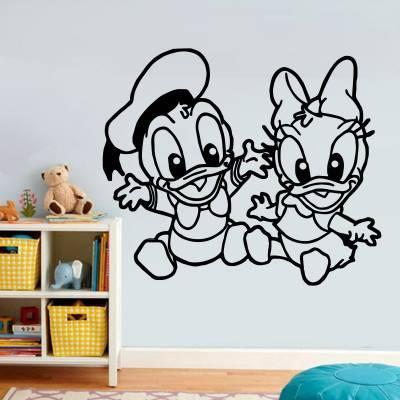 Adesivo de Parede Pato Donald E Margarida 2