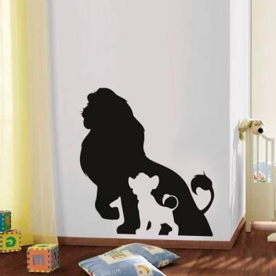 Adesivo de Parede Infantil Rei Leão