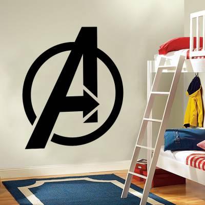 Adesivo de Parede Filmes Vingadores Logo