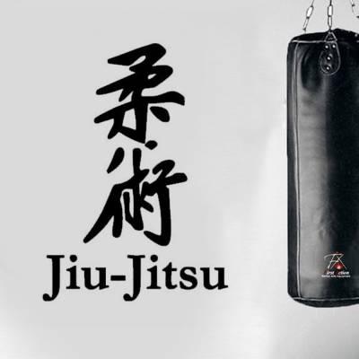 Adesivo De Parede Jiu Jitsu Escrita Japonesa