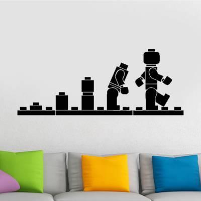 Adesivo de Parede Lego Evolução