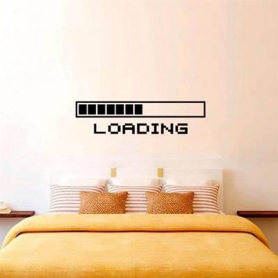 Adesivo de Parede Loading - Carregando