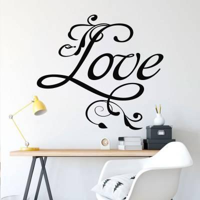 Adesivo De Parede Love 02