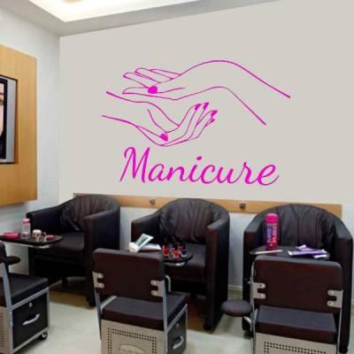 Adesivo de Parede Manicure