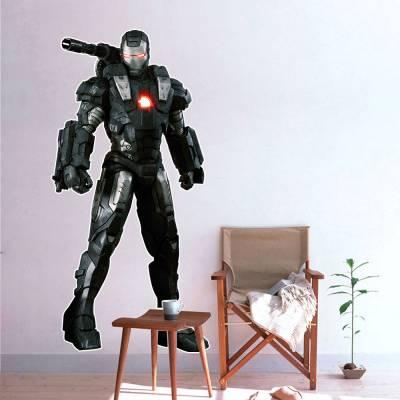 Adesivo De Parede Marvel Máquina De Combate