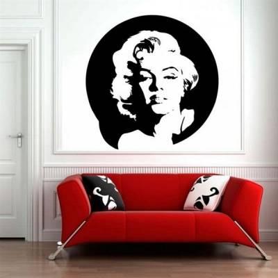 Adesivo decorativo de parede Marilyn Monroe 5