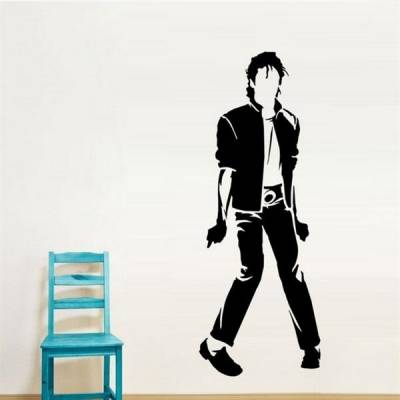 Adesivo decorativo de parede Michael Jackson 1