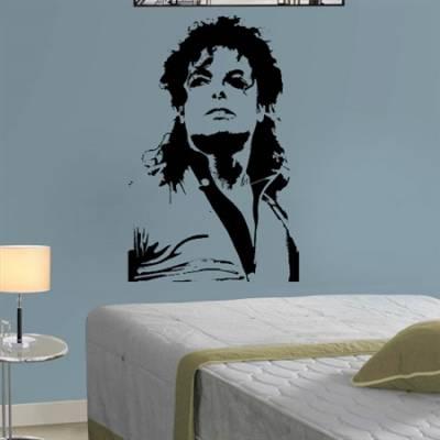Adesivo de Parede Michael Jackson 4