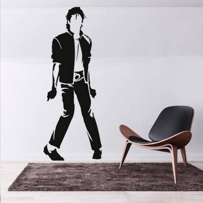 Adesivo de Parede Michael Jackson Dançando