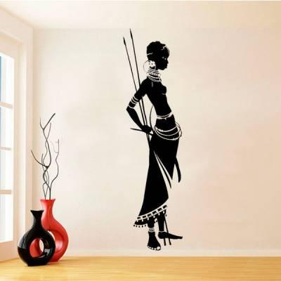 Adesivo de Parede Mulher Africana