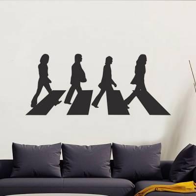 Adesivo de Parede os Beatles