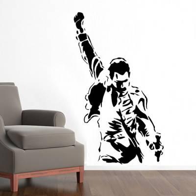 Adesivo de Parede Freddie Mercury 2