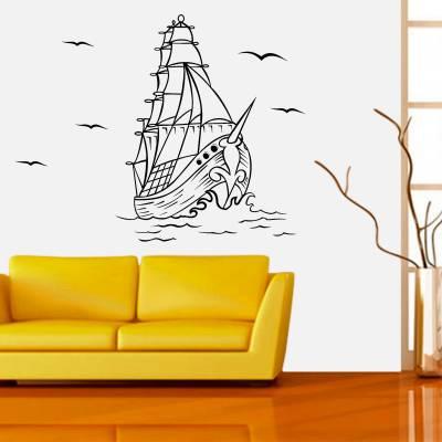 Adesivo de Parede Infantil Navio Pirata