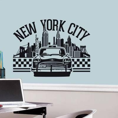 Adesivo De Parede Cidade De Nova Iorque
