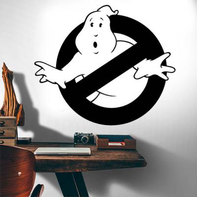 Adesivo de Parede os Caça-Fantasmas Ghostbusters