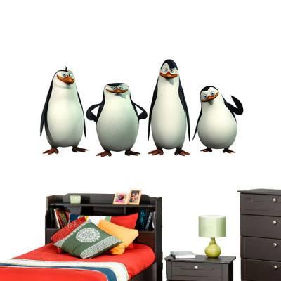 Adesivo de Parede Os Pinguins de Madagascar 2