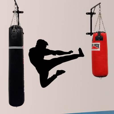 Adesivo de Parede Lutador De Kung Fu