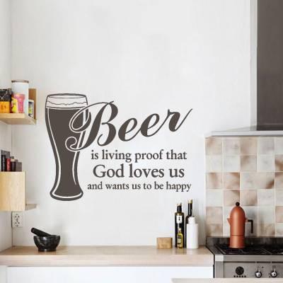 Adesivo de parede Beer