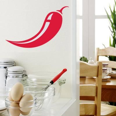 Adesivo de Parede para Cozinha Pimenta