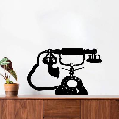 Adesivo de Parede Telefone Dos anos 70