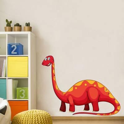 Adesivo de parede Diplodocus Cartoon