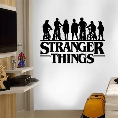Adesivo de Parede Stranger Things com Silhueta