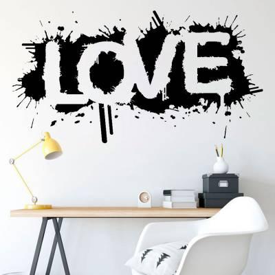 Adesivo de Parede Love Pichado