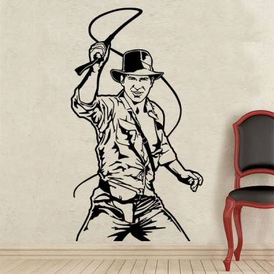 Adesivo de Parede Indiana Jones