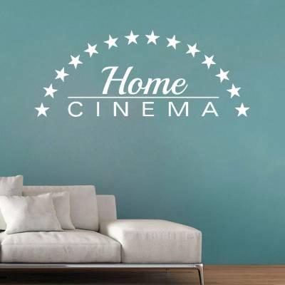 Adesivo de Parede Home Cinema