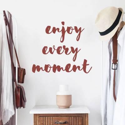 Adesivo de parede Enjoy Every