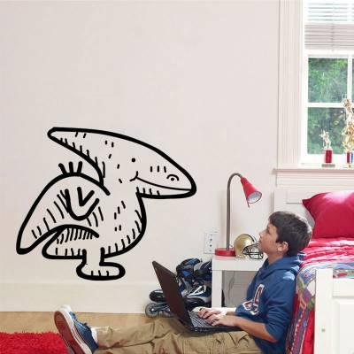 Adesivo de Parede Pterossauro Cartoon Kids