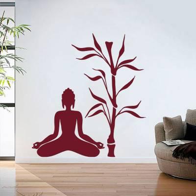 Adesivo de Parede Meditação Ao ar Livre