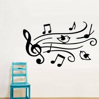 Adesivo Decorativo Passarinhos Músicais