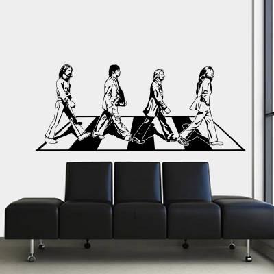 Adesivo de Parede Personalidades The Beatles