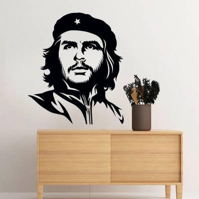 Adesivo De Parede Personalidades Che Guevara