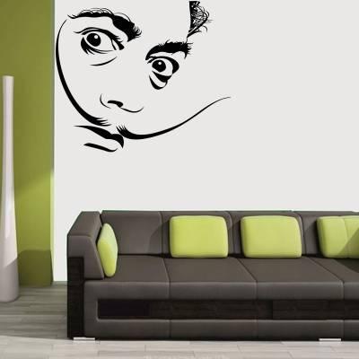 Adesivo de Parede Personalidades Salvador Dali