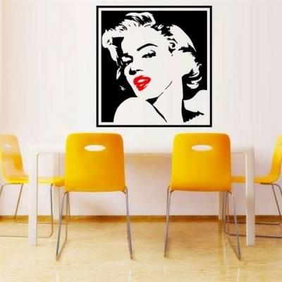 Adesivo de Parede Quadro Marilyn Monroe