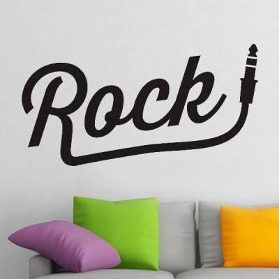 Adesivo de Parede Rock Plug