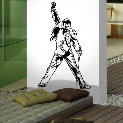 Adesivo de Parede Freddie Mercury 3