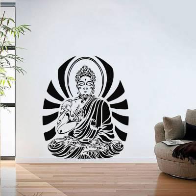 Adesivo De Parede Mandala Budista