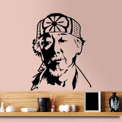 Adesivo De Parede Karate Kid Senhor Miyagi