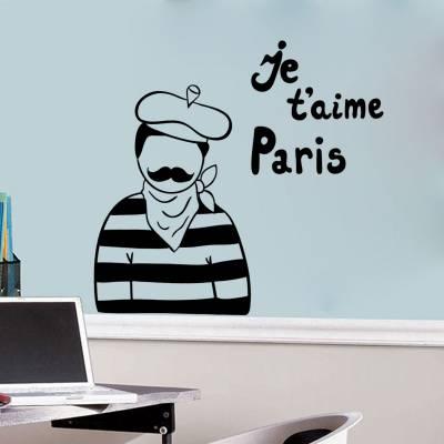 Adesivo de Parede Estou em Paris