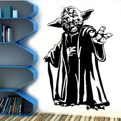Adesivo de Parede Star Wars Mestre Yoda