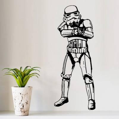 Adesivo de Parede Star Wars Stormtrooper 2