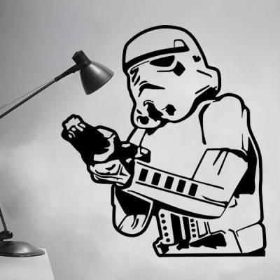 Adesivo de Parede Star Wars Stormtrooper 3
