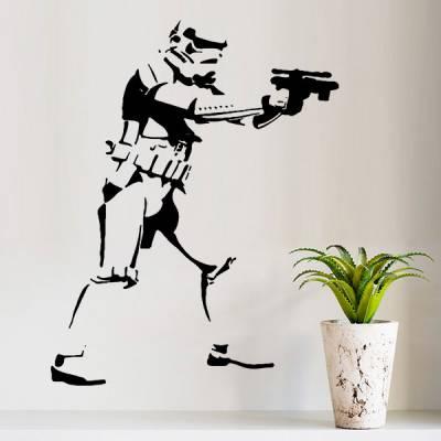 Adesivo de Parede Star Wars Stormtrooper 4